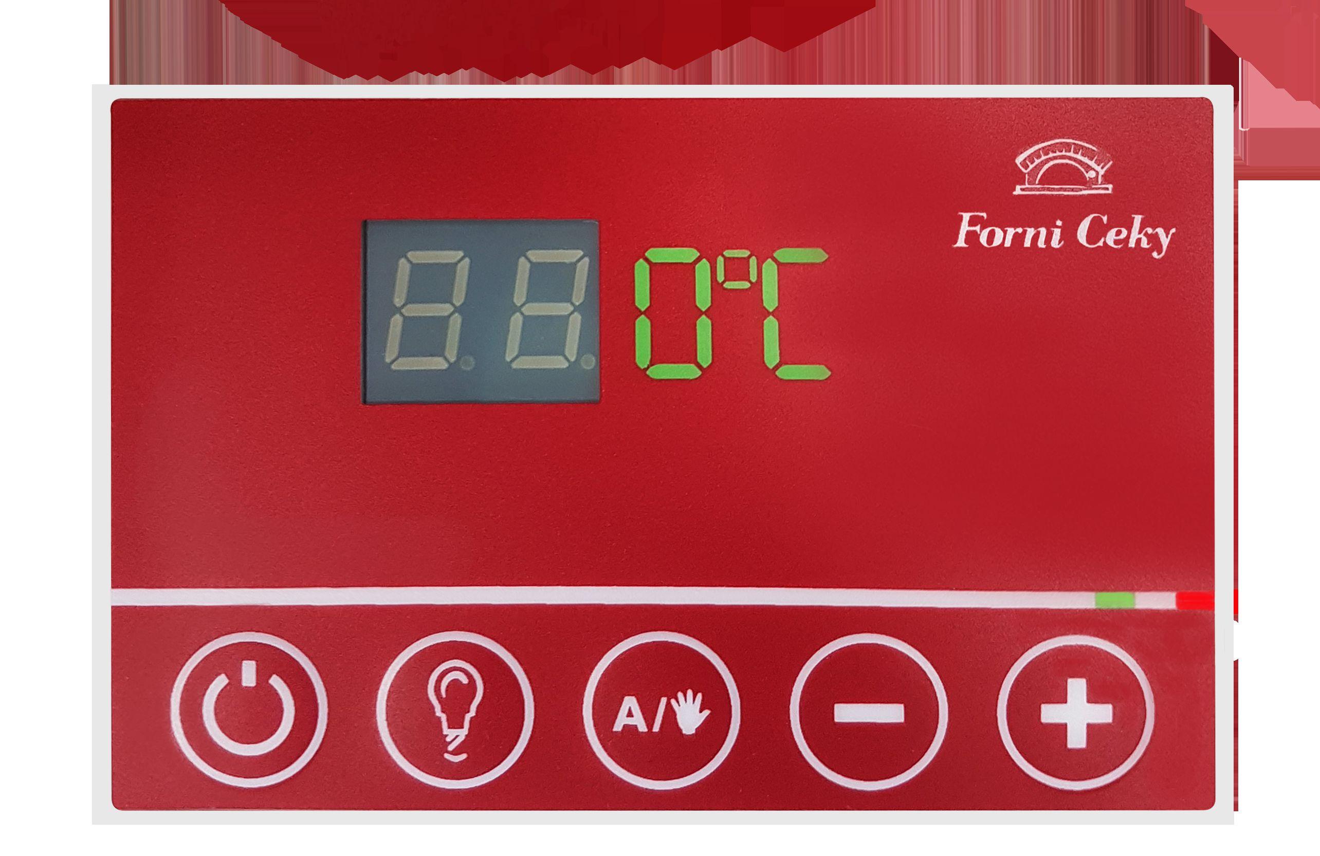 controllo temperatura forno