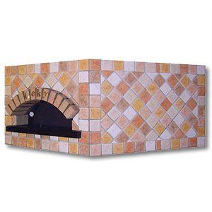 forno pentagonale per pizza