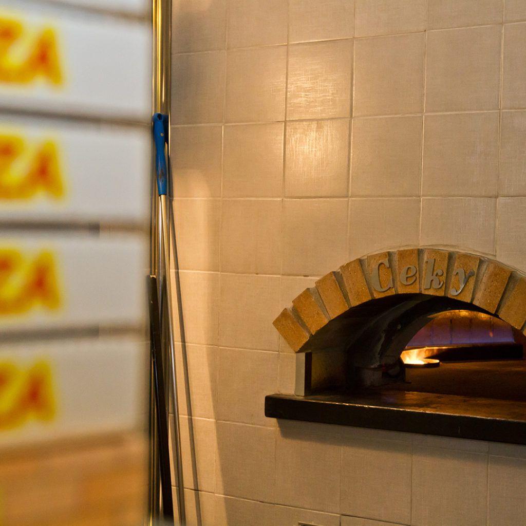 forno a gas professionale per pizza