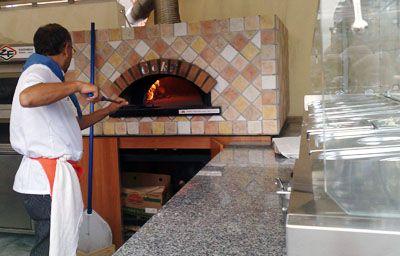 Infornata pizza